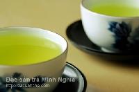 Cách pha trà nước xanh cực đẹp